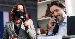 Kamala Harris, az Egyesült Államok alelnöke és Justin Trudeau kanadai miniszterelnök.jpg