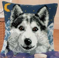 Vervaco 1200-775 Midnight Wolf Cushion Front.jpg