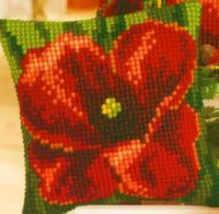 Vervaco 1225-5770 Poppy Cushion Front.jpg