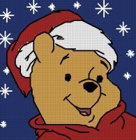 Vervaco Pillow Christmas Pooh.jpg