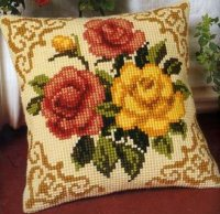 Vervaco 1200-613 Red-Yellow Roses.JPG