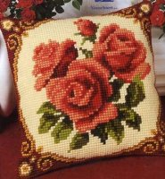 Vervaco 1200-614 Floral Cushion Front 2.JPG