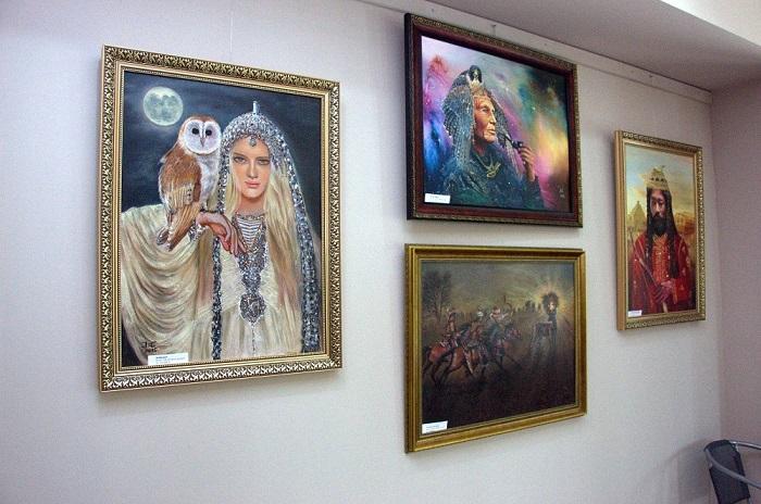 Szilvásvárad kiállítás : gondolatok ecsetvonások között...